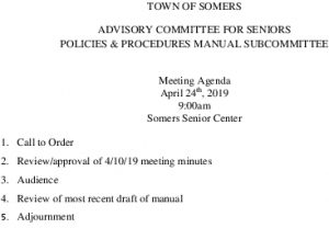 Icon of 20190424 Policies And Procedures Manual Subcommittee Meeting Agenda