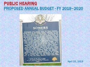 Icon of Public Hearing 2019-2020 Presentation