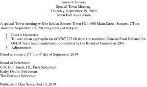 Icon of 20190919 Town Meeting September