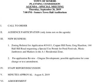 Icon of 20190926 Planning Commission Special Meeting Agenda