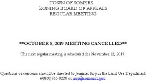 Icon of 20191008 ZBA Meeting Cancelled