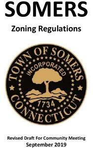 Somers Draft Zoning Regulations 092719