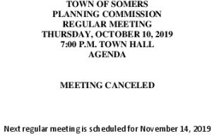 Icon of 20191010 Planning Meeting Canceled