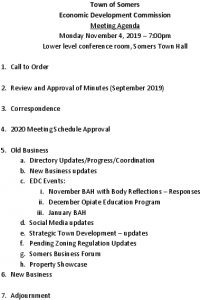 Icon of 20191104 Edc Agenda