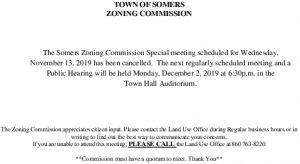 Icon of 20191113 Zoning Commission Cancellation
