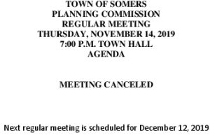 Icon of 20191114 Planning Meeting Canceled