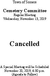 Icon of 20191113 Cemetery Mtg Cancellation
