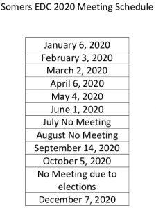 Icon of 2020 Edc Mtg Schedule