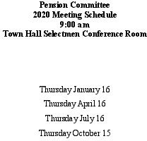 Icon of 2020 Pension Mtg Schedule