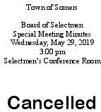 Icon of 20190529 Selec Mtg Cancellation