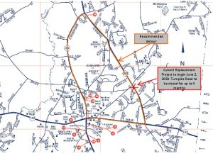 Icon of 2020 Turnpike Road Culvert Replacement Detour Map