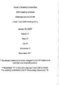 Icon of 2020 Cemetery Mtg Schedule