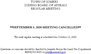 Icon of 20200908 ZBA Meeting Cancelled