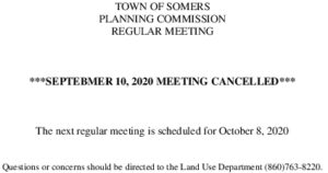 Icon of 20200910 Planning Meeting CANCELLED