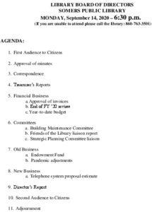 Icon of 20200914 Library Board Agenda