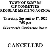 Icon of 20200917 CIP Agenda CANCELLED
