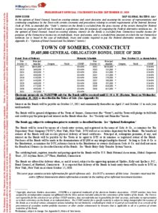 Icon of Somers (Town Of), CT General Obligation Bonds, Issue Of 2020 POS & NOS