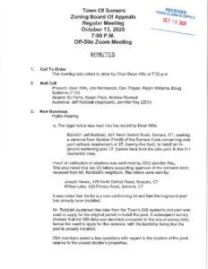 Icon of 20201013  ZBA Minutes