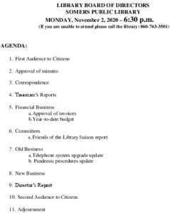Icon of 20201102 Library Board Agenda