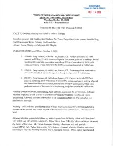 Icon of 20201019 Zoning Commission Special Meeting Minutes