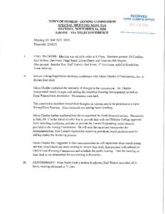 Icon of 20201116 Zoning Commission Special Meeting Minutes