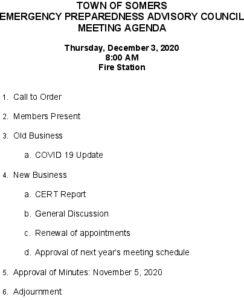 Icon of 20201203 Emerg Prep Agenda