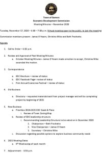 Icon of 20201117 Edc Minutes