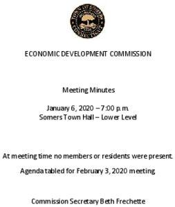 Icon of 20200106 Edc Mtg Cancellation