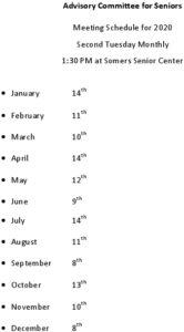 Icon of 2020 Sr Adv Comm Mtg Schedule