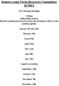 Icon of 2021 Covid Recovery Mtg Schedule