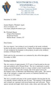 App 739 - 23 Eleanor Wetlands Report