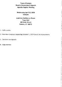 Icon of 20200429Brd Of Assessment Appeals Agenda