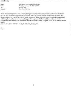 Icon of ZBA20-008 Written Correspondence From Public
