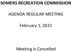 Icon of 20210201 Rec Commission Agenda Cancelled