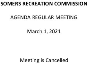 Icon of 20210301 Rec Commission Agenda Cancelled