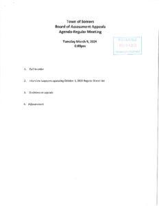 Icon of 20210309 BOAA Agenda