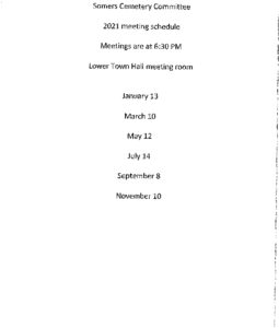 Icon of 2021 Cemetery Mtg Schedule