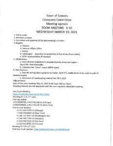 Icon of 20210310 Cemetery Agenda