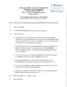 Icon of 20210311 Planning Commisson Agenda - REVISED (2)