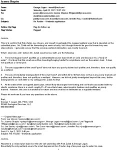 Icon of App 740 - 50 Hangdog Soils Memo From GLogan After Group Soils Investigation