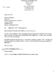 Icon of App 740 - George Schober Letter 3-26-21