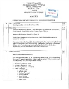 Icon of 20210302 ZBA Special Meeting Minutes