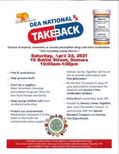 Icon of Drug Take Back Day 2021