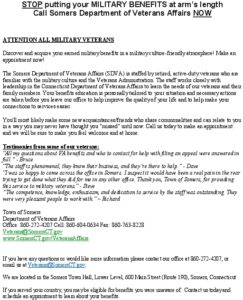 Icon of Veterans Information