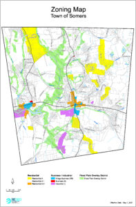 Icon of Somers Zoning Map Effec 5.1.2021