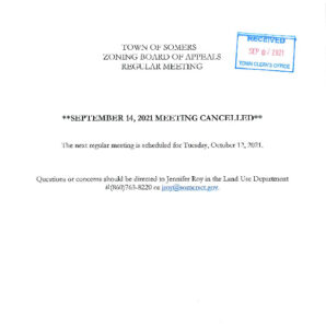 Icon of 20210912 ZBA Meeting Cancelled