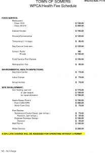 Icon of WPCA Health Fee Schedule
