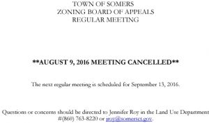 Icon of 20160809 ZBA Meeting Cancelled