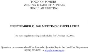 Icon of 20160913 ZBA Meeting Cancelled