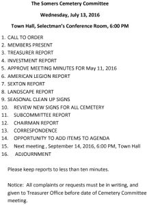 Icon of 20160713 Cemetery Comm Agenda